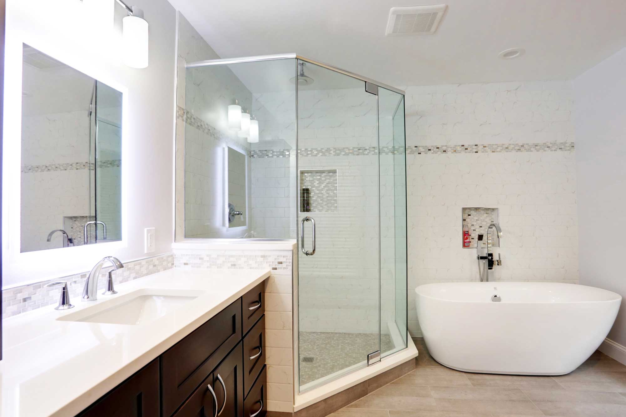 Kitchen Bathroom Remodeling Design Build In Silver Spring MD - Building a new bathroom